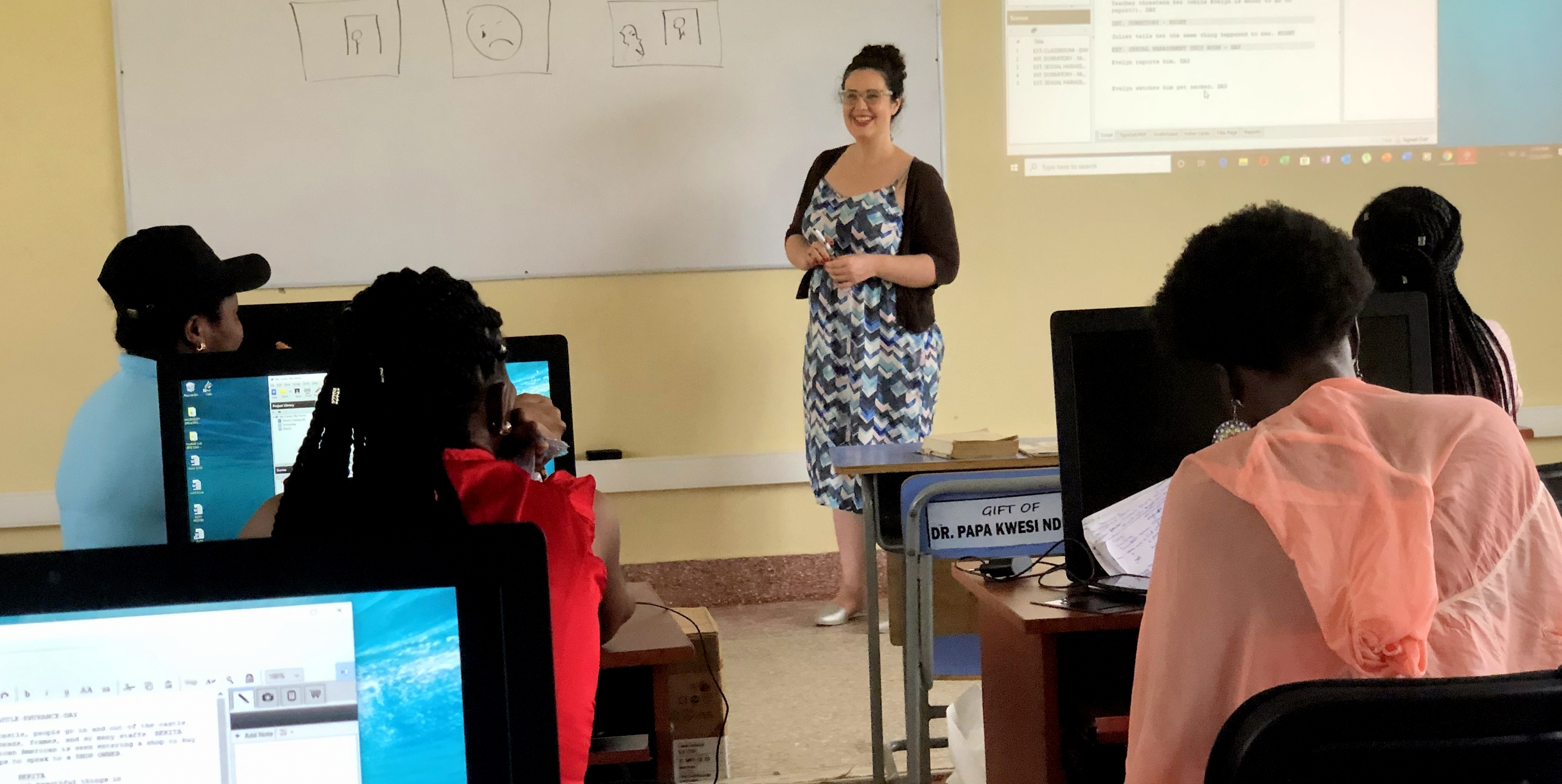 Mary-Ashley-Burton-Ghana-Classroom